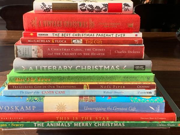 Christmas advent books