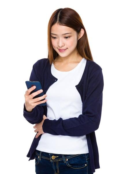 teen smart phone iPhone