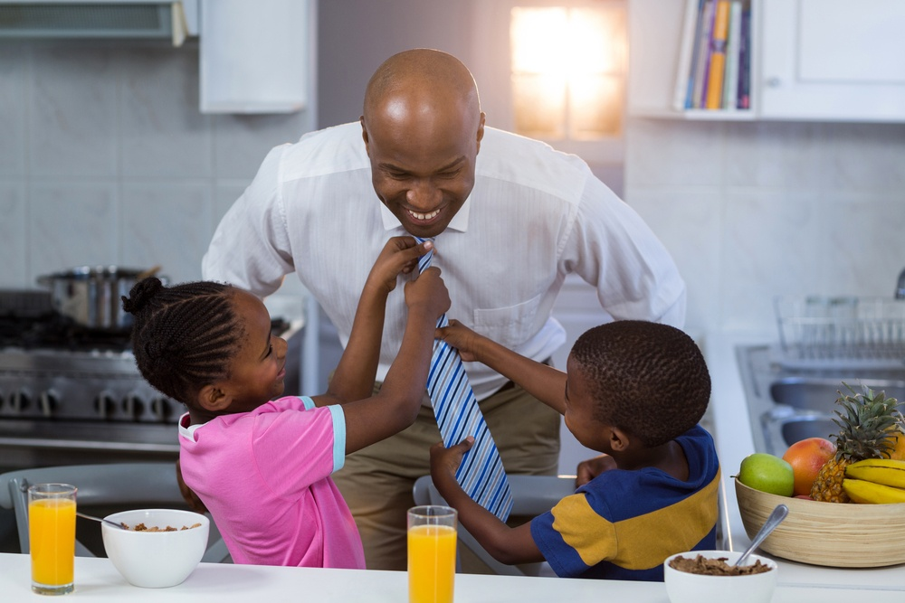 fathers exhibit godly behavior