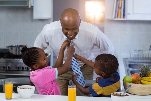 fathers exhibit godly behavior