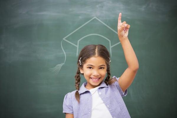 future leaders valedictorian little girl