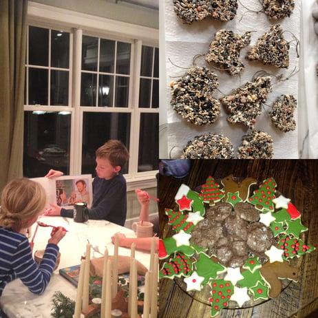advent activities cookies ornaments