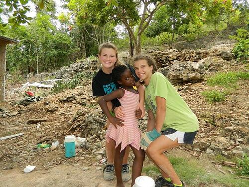 High school student Jamaica mission trip
