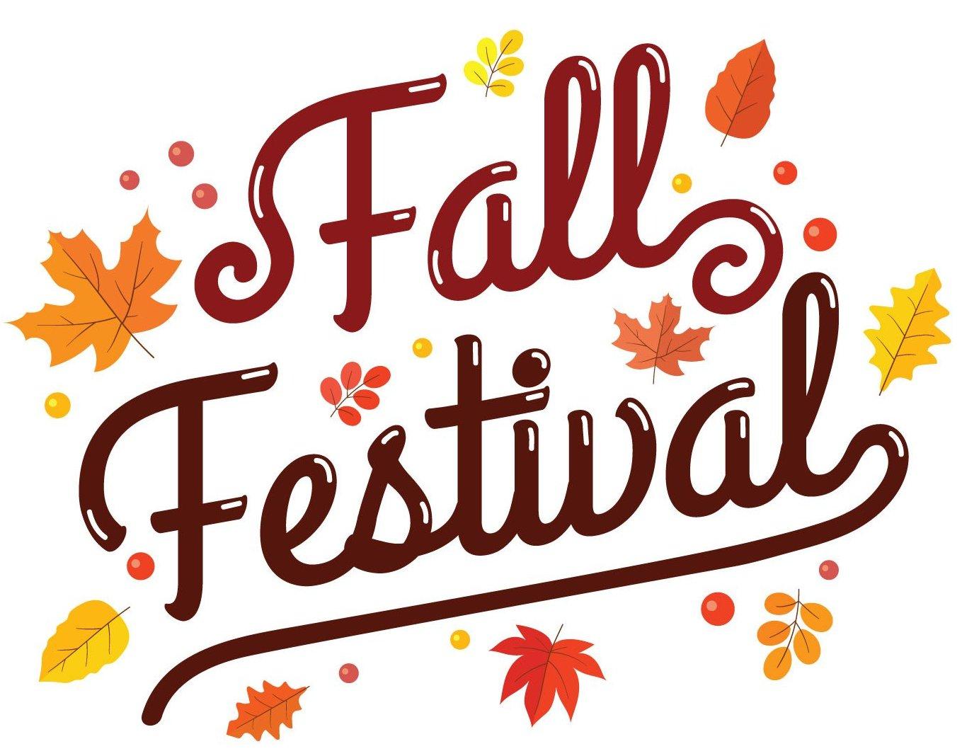 Fall Festival Clip Art 2