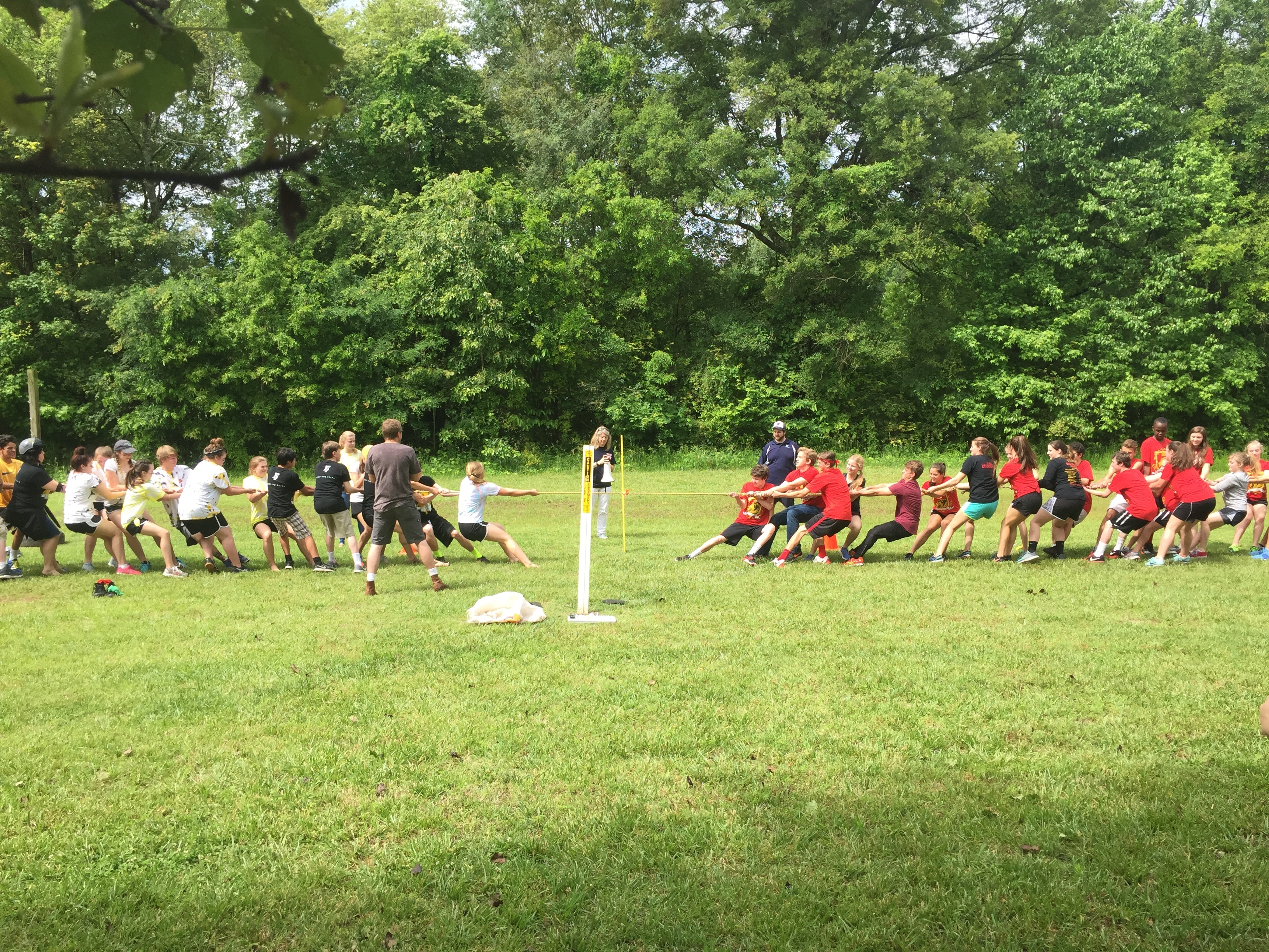 athletes and teamwork