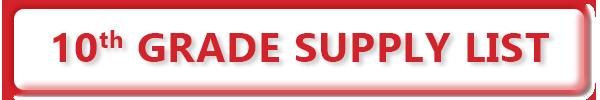 10th Grade Supply List