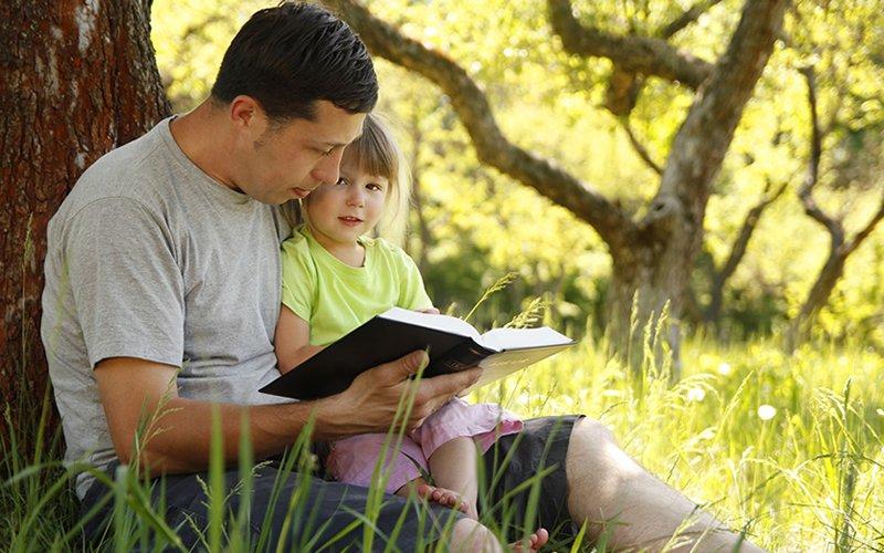 spiritual health scripture reading