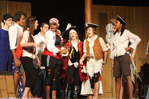 students theater acting high school