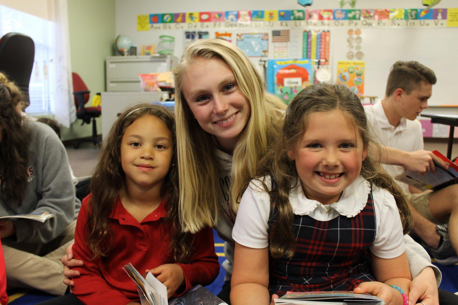 reading to preschool children
