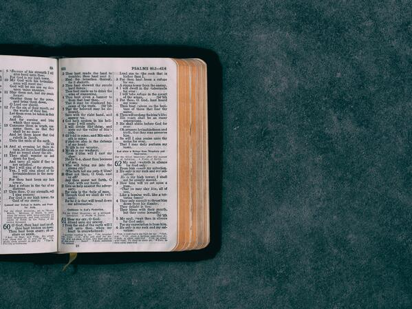 reading bible conviction