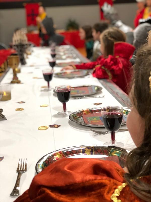 school medieval feast elementary