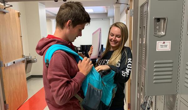 kindness helping friend teenagers