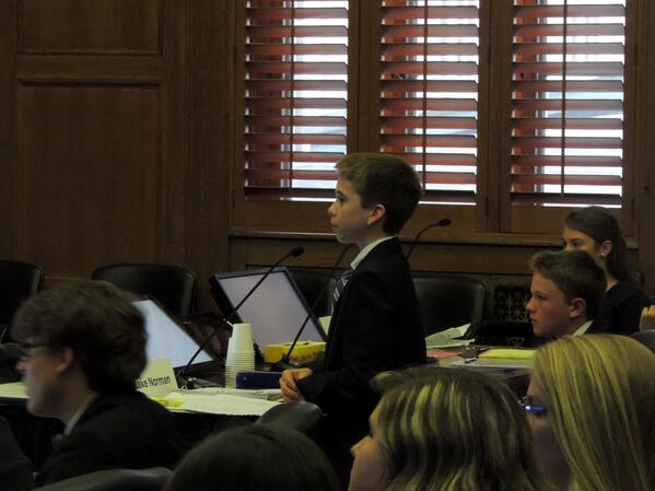 middle school boy mock trial