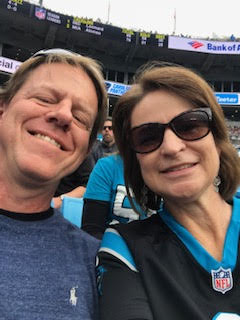 laurie thigpen head of school and husband